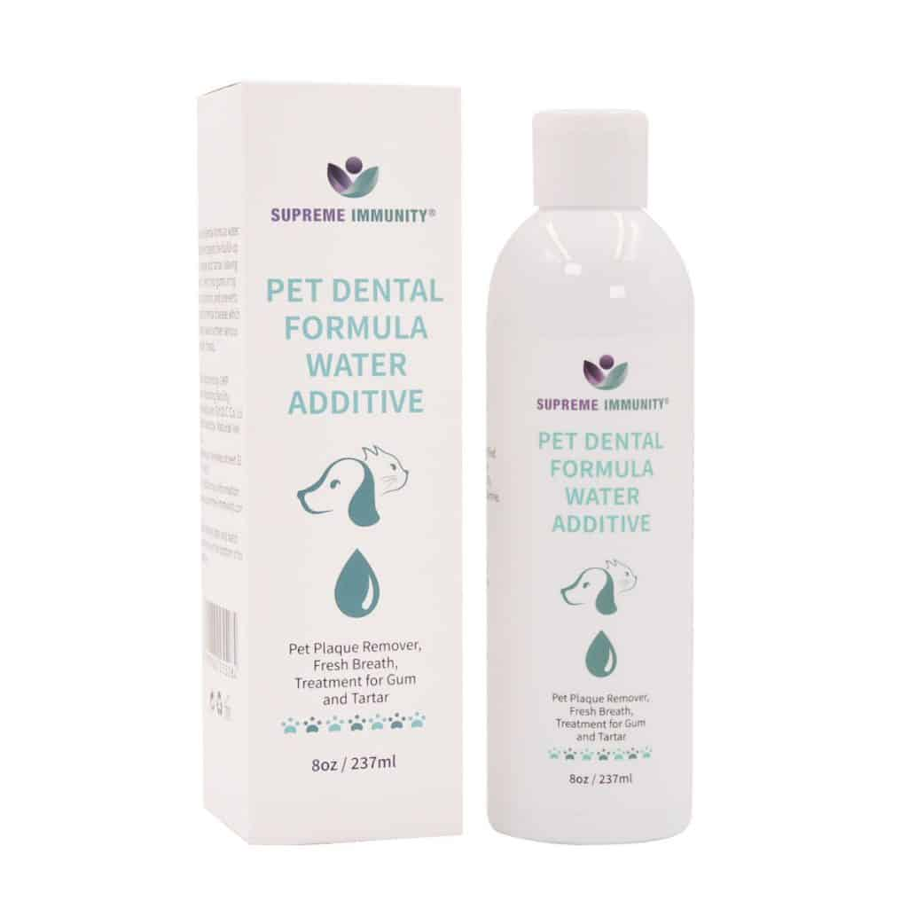 SUPREME IMMUNITY PET DENTAL FORMULA WATER ADDITIVE